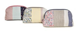 Floral Pastel Makeup Bag