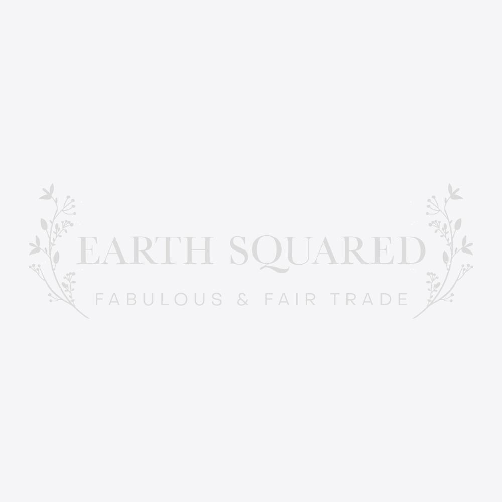 Oil Cloth 3 Zip Pouch Bag