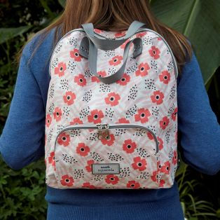 Spring Oil Cloth Backpack