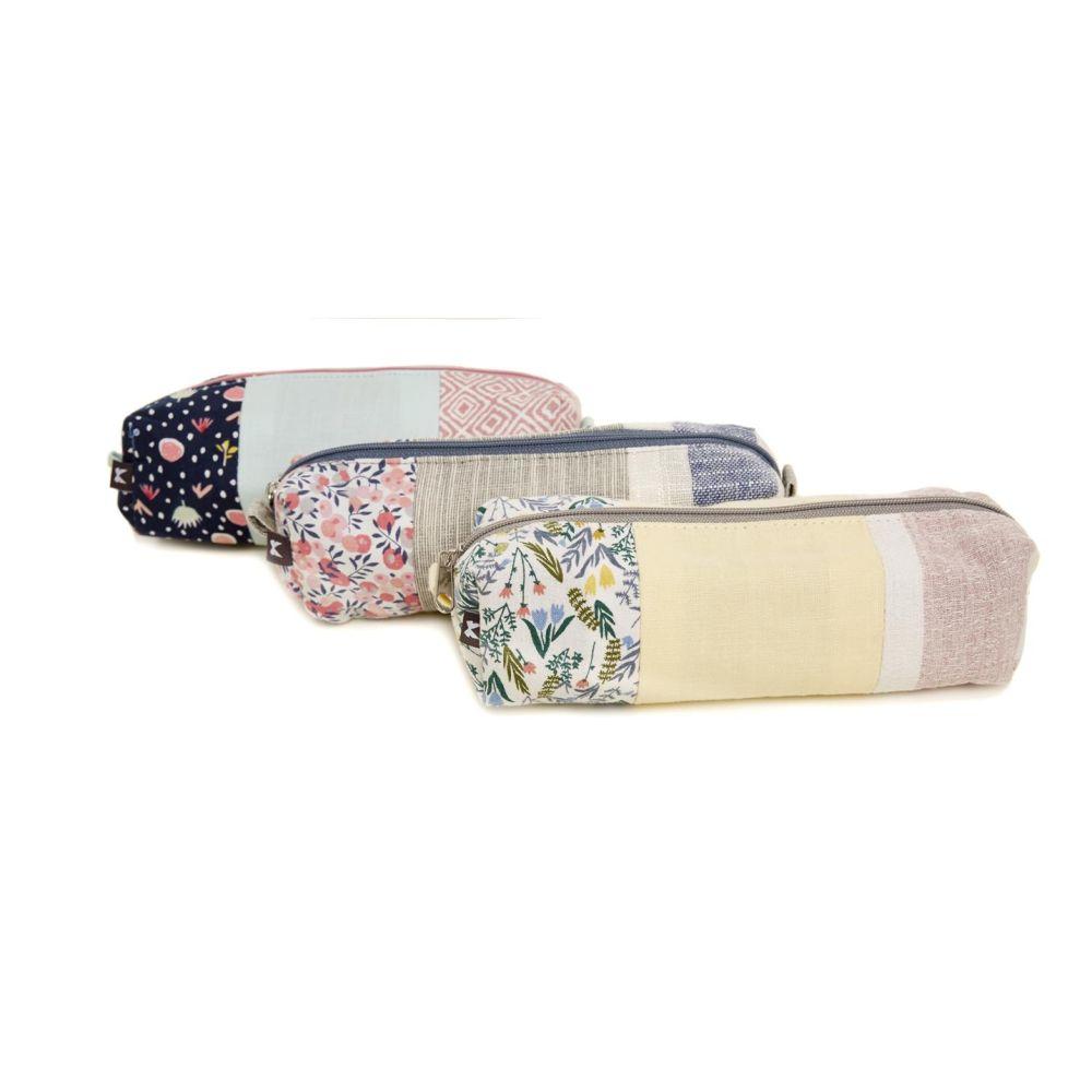 Floral Pastel Pencil Case