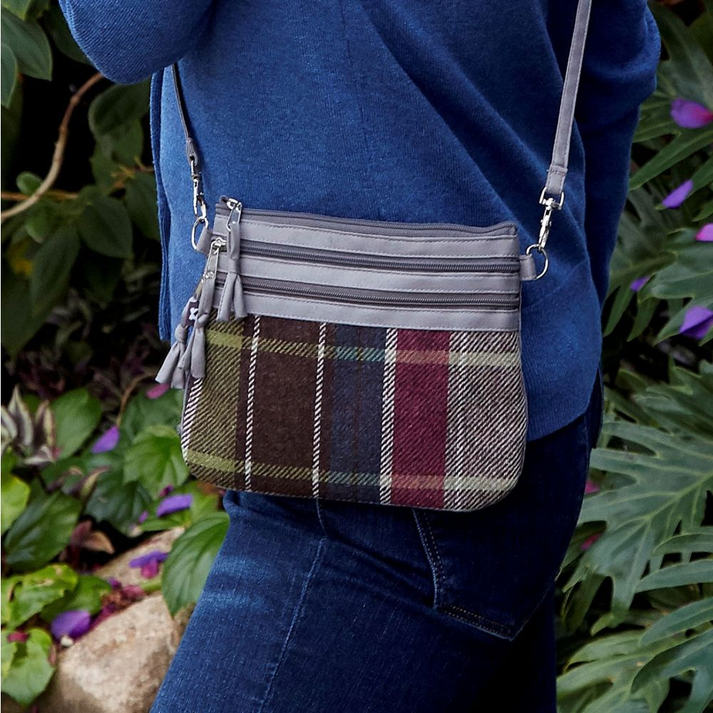 Tweed Pouch Bag